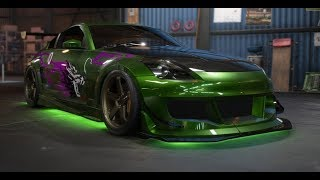 Need for Speed Payback Custom Cars 350z nfs underground 2