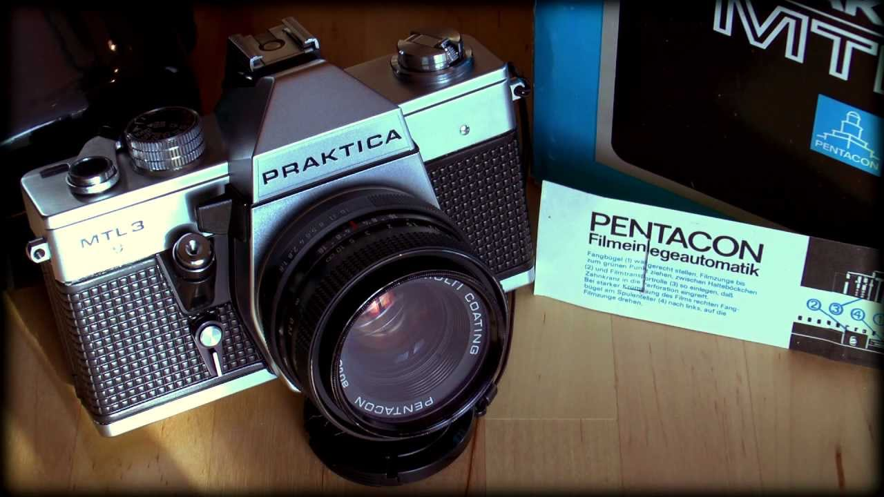 Praktica mtl camera with flash and light meter u vintage for sale