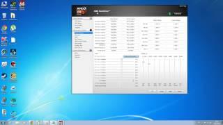 Розгін процесора AMD з допомогою AMD OverDrive