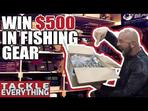 GIVEAWAY / WIN $500 FISHING SPREE - PICASSO LURE UNBOXING