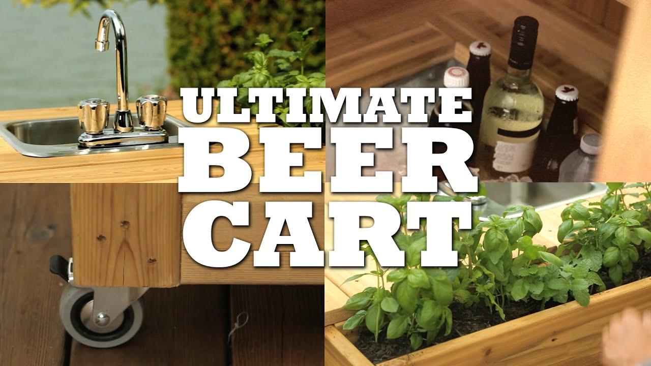 Building Your Cottage Bar Cart