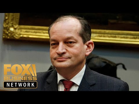 Labor Secretary Alexander Acosta holds press conference