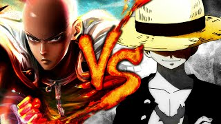 SAITAMA Vs. LUFFY EPIC RAP | One Piece Vs. One Punch Man | BTH GAMES Ft. IVANGEL MUSIC - 2018