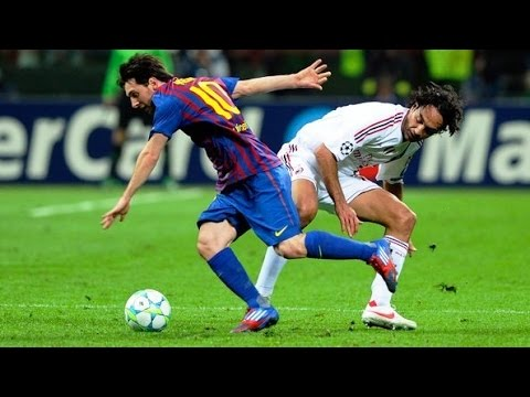 Lionel Messi ● Destroying Alessandro Nesta , Roberto Carlos & Fabio Cannavaro ||HD||