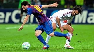 Lionel Messi ● Destroying Alessandro Nesta , Roberto Carlos & Fabio Cannavaro ||HD||