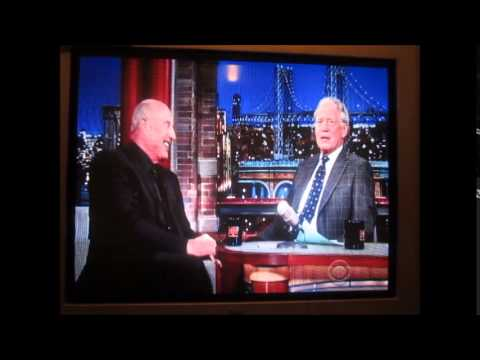 Dr. Phil & Robin Tunney on LATE SHOW with David Letterman - 02-03-2015