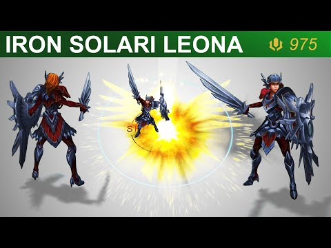 Iron Solari Leona Skin Spotlight 2020 | SKingdom - League of Legends