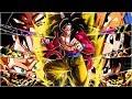 WHAT A FUN TEAM TO RUN! FULL 100% RAINBOW STAR DRAGON BALL GT TEAM!   Dragon Ball Z Dokkan Battle