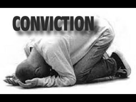 Holy Spirit God's Special Prosecutor - The Conviction Of Sin
