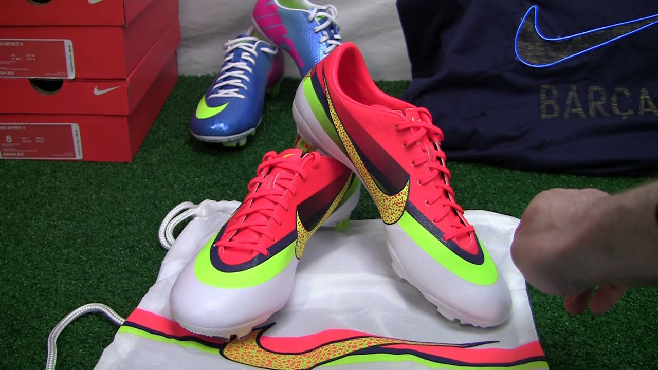 9c3717e43 Nike Mercurial Vapor IX CR FG Soccer Cleats - White with Crimson Video  Review - SoccerPro.com