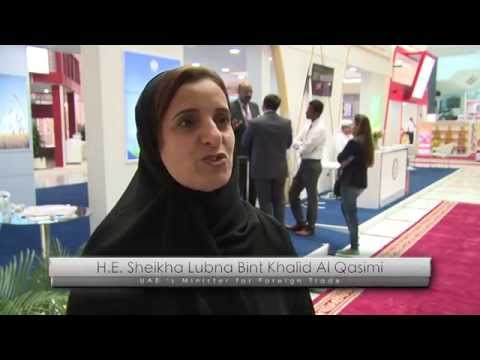 H.E. Sheikha Lubna Al Qasimi speaks about SIAL Middle East