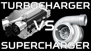 Supercharger VS. Turbo Sounds