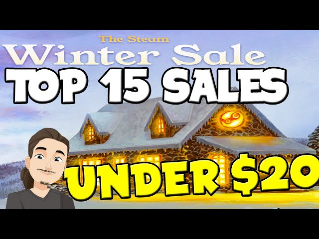 Top 15 Game Recommendations Under $20 || Steam Winter Sale 2020