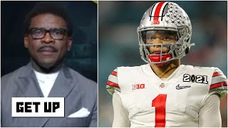Michael Irvin says Justin Fields is the second best QB in the #NFLDraft | Get Up