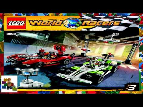 LEGO Instructions - World Racers - 8898 - Wreckage Road
