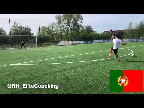 Bruno Fernandes free kicks & penalty kicks practice
