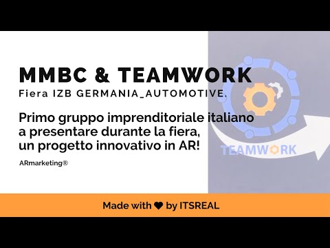 TEAMWORK | FIERA IZB | AUGMENTED REALITY EXPERIENCE