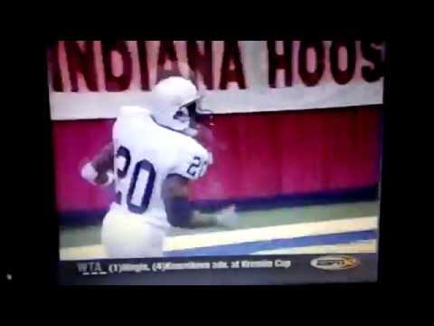 Penn State / NFL Eddie Drummond / Coach Joe Paterno