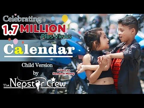 Calendar  | The Cartoonz Crew  | Child Version   | Cover Dance Video by The Nepstar Crew