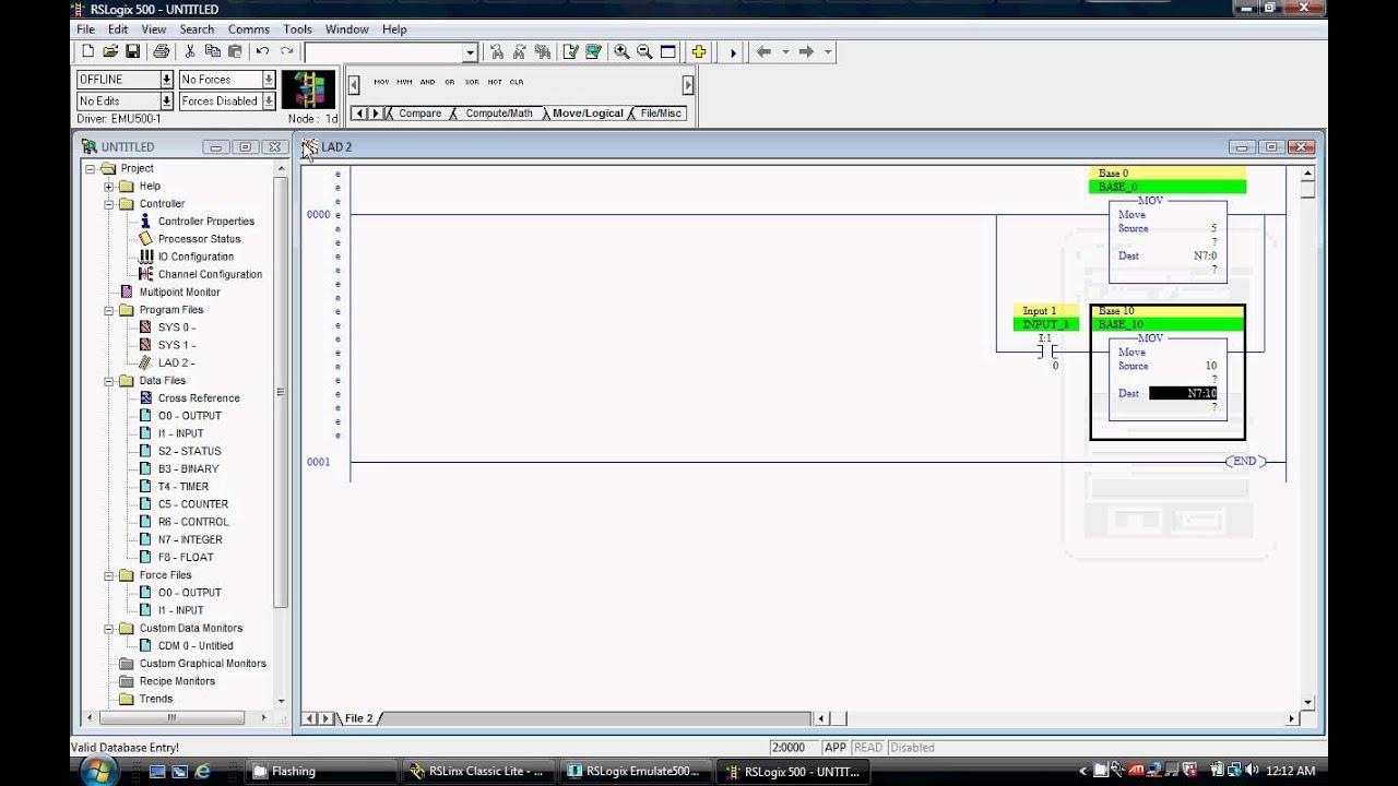 rslogix 5000 mov instruction