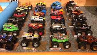 "2016 HOT WHEELS MONSTER TRUCK KING OF THE HILL #3 ""The Race"""