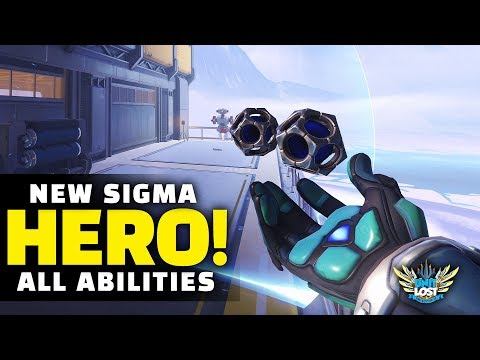 Overwatch - NEW Hero Sigma Gameplay! - ALL Abilities Breakdown