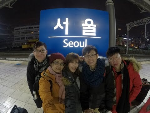South Korea Winter (Seoul + Busan) VLOG 2016 | GoPro Hero 5 Black
