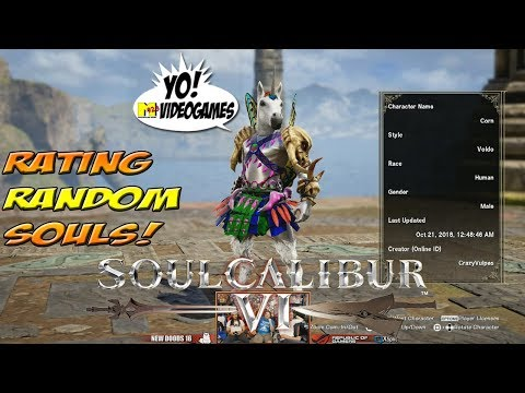 Soul Calibur VI! Rating Random Customs! Part 1 - YoVideogames