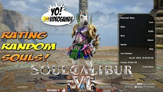 Soul Calibur VI! Rating Random Customs! Part 1 - YoVideogames