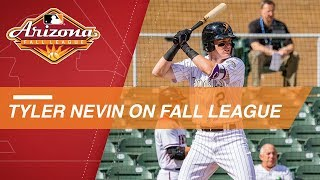Tyler Nevin discusses his Arizona Fall League experience