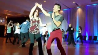 Spotlight New Years - Anthony Chen & Kaitlyn Lankin Kraatz - Novice All-Skate