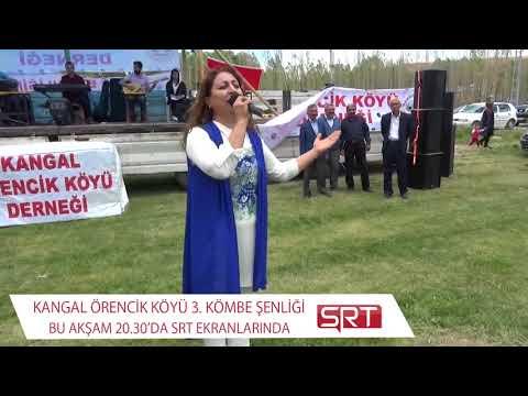 SRT TV EKRANLARINDA KANGAL ÖRENCİK KÖYÜ 3. KÖMBE ŞENLİĞİ BU AKŞAM 20:30
