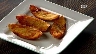 Baked Potato Chips - Tea Time