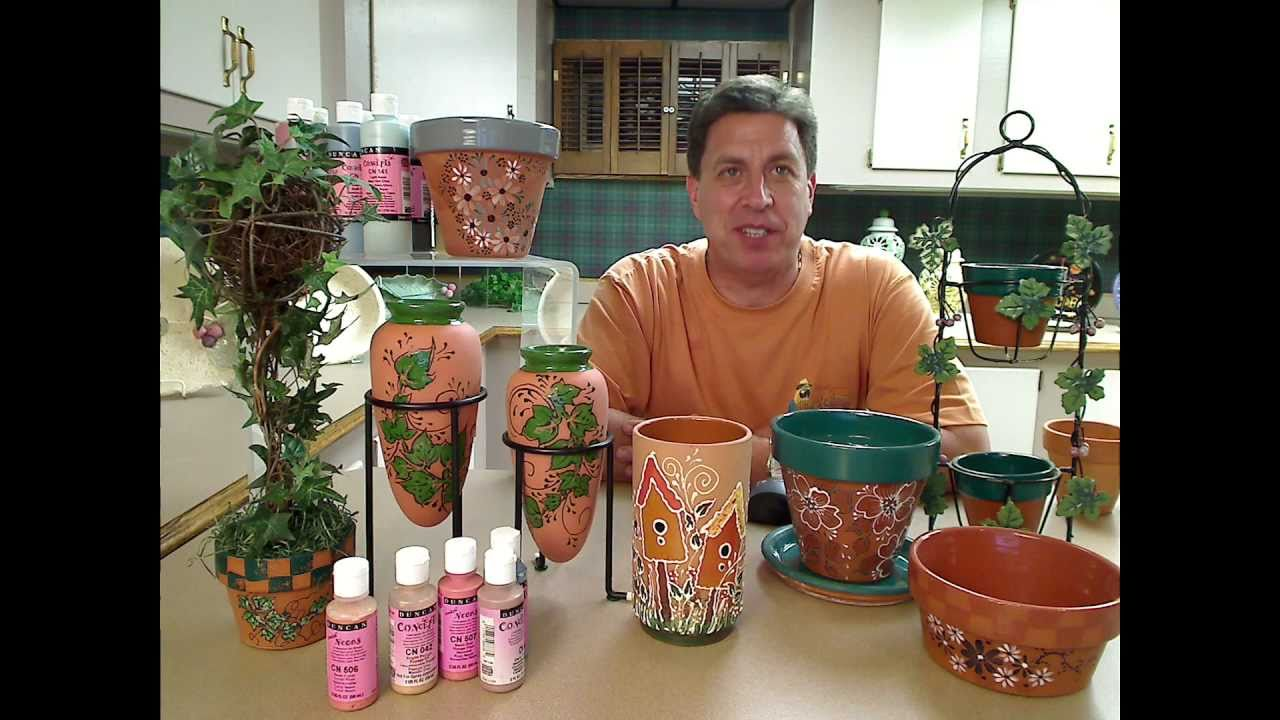 sc 1 st  YouTube & Turn Ordinary Terra Cotta in Extraordinary with Frank Kahanic - YouTube