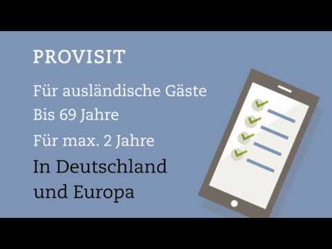 PROVISIT - Versicherung für ausländische Gäste in Deutschland und Europa
