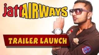 Yo Yo Honey Singh & Alfaaz Launching JATT AIRWAYS First Look in New Delhi