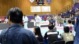 2015 All American open   Syohei Kamada VS David Sarkhoshyan