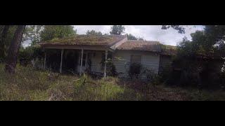 Abandoned house right outside John Travolta's aviation estate