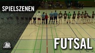 HSV Futsal - FC St. Pauli Futsal (Halbfinale Rückspiel, Futsal Final Four 2016) - Spielszenen