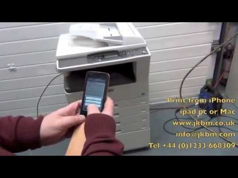 can you print from an iphone quot sharp mx200d quot print from iphone quot how can i print from my 2907