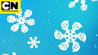 Winter Wonderland Screensaver Ambiance | 45 Minutes | Cartoon Network