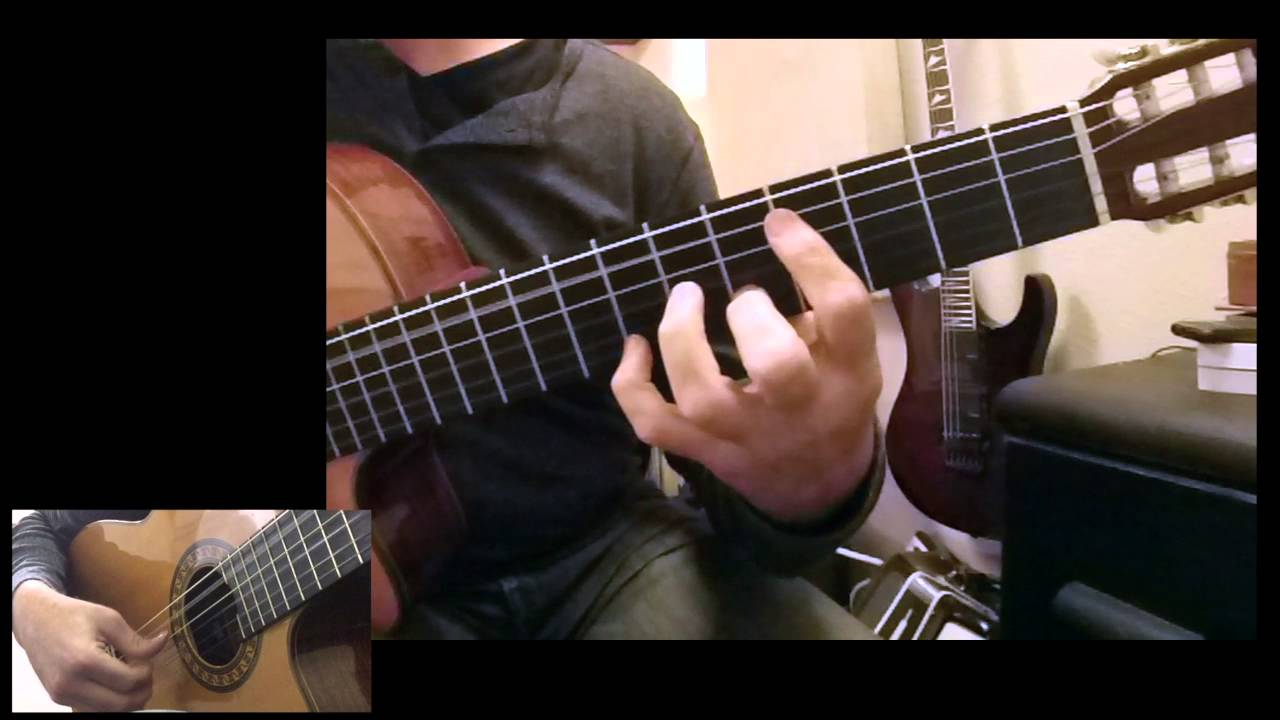 Moonglow Solo Guitar Chord Melody Arrangement Youtube