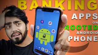 HOW TO SAFELY USE BANKING APPS ON ANY ROOTED ANDROID PHONES  😱🔥