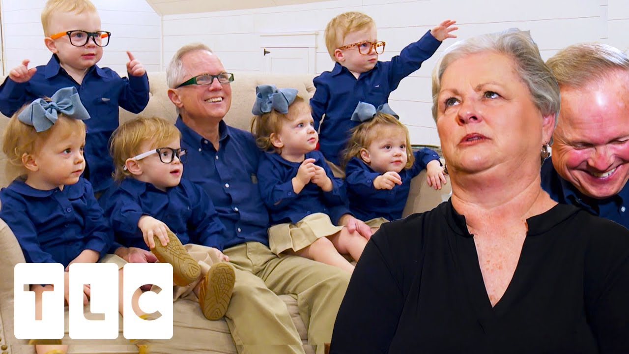 Are They The World's Greatest Grandparents? Six Babies' Sleepover! | Sweet Home Sextuplets