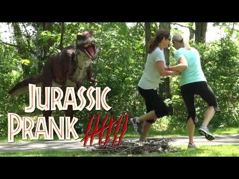 Jurassic Prank - Episode 7 - Don't Touch the Eggs!