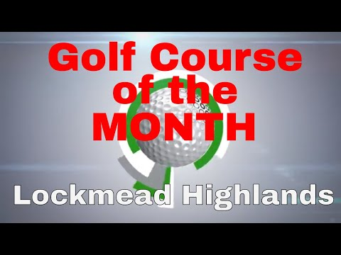 Golf Course on the month played on TGC and Skytrak Golf Simulator in March