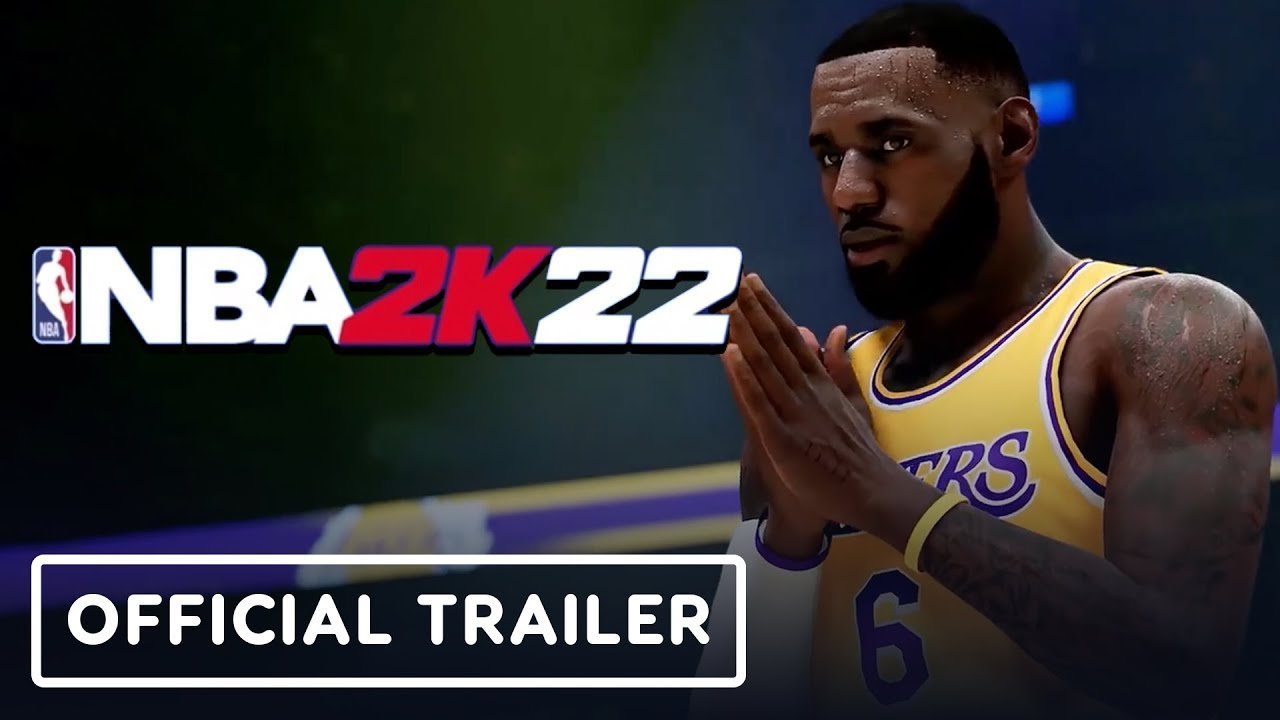 NBA 2K22 - Official Gameplay Reveal Trailer - YouTube