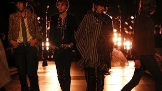 Repeat youtube video Saint Laurent | Spring Summer 2015 Full Fashion Show | Menswear | Exclusive