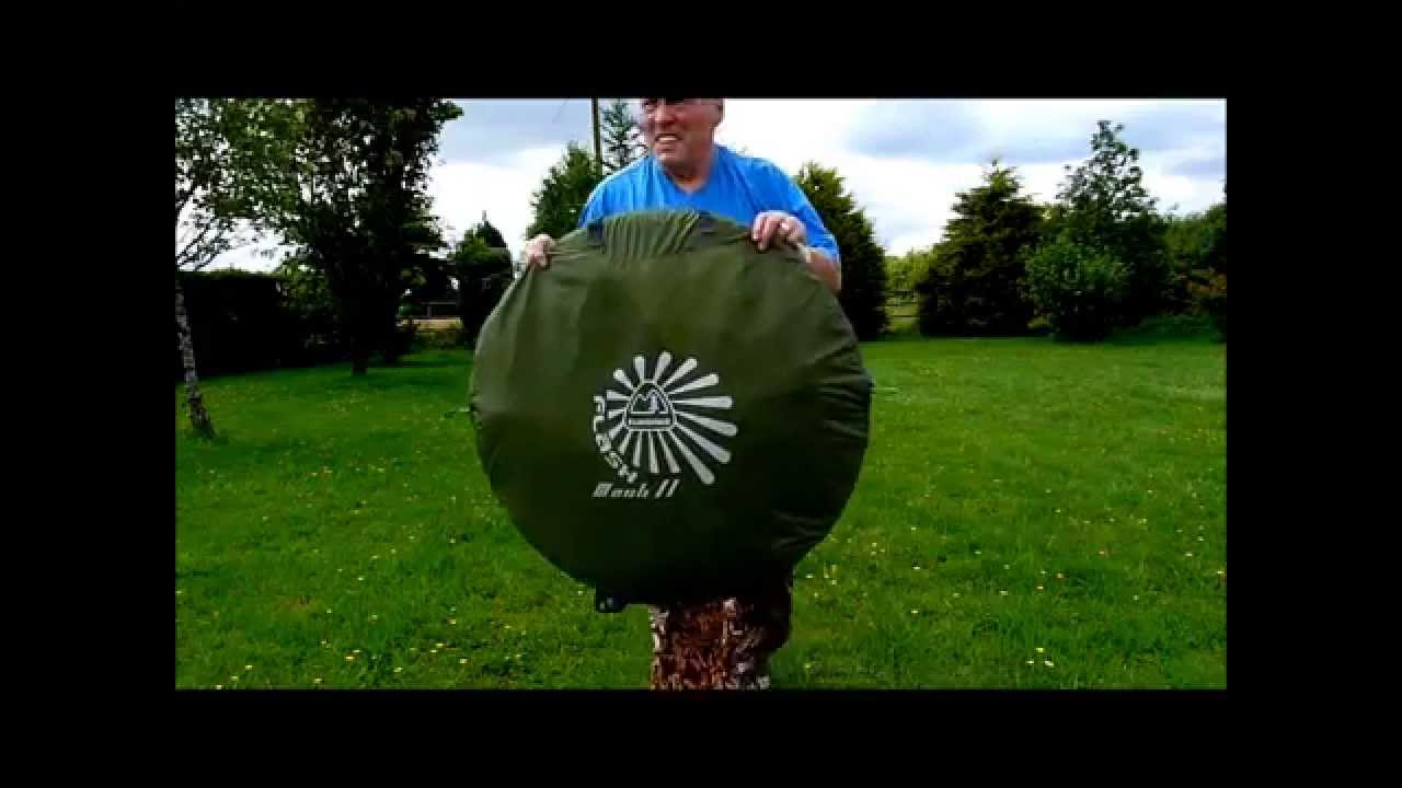 How to Pack Away A Eurohike Pop Up Tent & How to Pack Away A Eurohike Pop Up Tent - YouTube