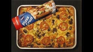 How to make Homemade Pizza using Pillsbury Pizza Crust